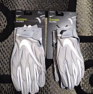 Nike Super bad Football Gloves Size  Large / XXXL